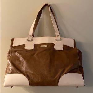PULICATI Italian Leather Tote Bag